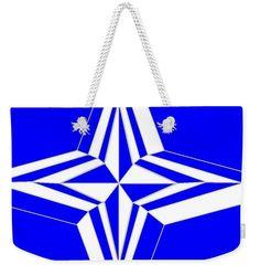 Weekender Tote Bag of 'Starlight 10' by Sumi e Master Linda Velasquez.