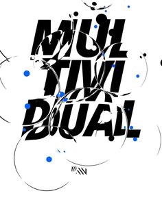 #2d #3d #render #bubbles #poster #print #design #branding #multividual #c4d #blackandwhite #color #manvsmachine #ripoff #logo Graphic Design Posters, Graphic Design Illustration, Graphic Design Inspiration, Graphic Prints, Typography Poster, Typography Design, Lettering, Typographie Fonts, Art Drawings For Kids