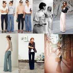 COME ON WIDE PANTS   for her