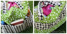 Pottery Barn Knockoff Tote Tutorial