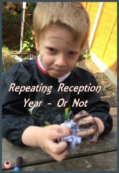 whether our son should repeat his reception year or not