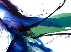 "Fluidity #10 - 30""x40"" Acrylic on Canvas, Jonas Gerard"