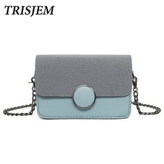 da942f5841 Aliexpress.com   Buy TRISJEM brand female messenger bag for girls mini cute  fashionable panelled chain crossbody bags for women 2017 hasp flap bag from  ...