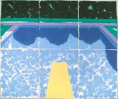 Swimming Pool with Reflection, 1978