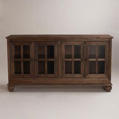 WorldMarket.com: Greyson Sideboard - use it for my fancy dishes OR as a TV stand?