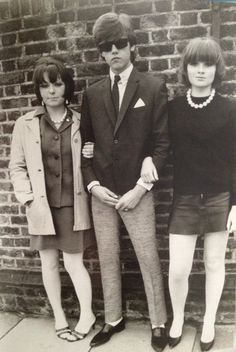 London mods looking boss, 1976