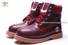 Timberland Custom 6 Inch Fleece Snow Boots For Women Burgundy $ 80.00