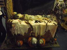 Halloween cake  Cake by TheHairyBaker