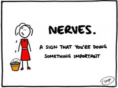 A quick & brilliant way to deal with nerves…  Read more: http://www.gingerpublicspeaking.com/deal-nerves