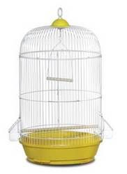 Prevue Pet Products, Inc - #31999 Small Round Bird Cage, 6pkThis small round cage is designed after the classic 'Tweety' bird cage  Measurin...