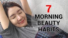 Eunice's Beauty Habit : 7 Morning Beauty Habits  #wishtrend #wishtrendtv #beauty #beautyhabit #eunice #korean #skincare