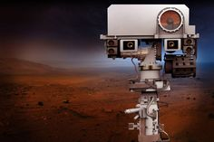 Nagoya, Japan (SPX) Sep 2017 - As the NASA Curiosity rover roams the surface of Mars, its ChemCam captures the chemical makeup of its surroundings with a specially designed laser system. It is the most powerful laser to operate o Nasa Curiosity Rover, Robot, Types Of Work, 40 Years, Mars, Universe, Challenges, Kiosk, Landing