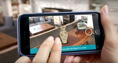 6 furniture and home decor sites that let you see what furniture will look like in your room before you buy it Apple Ios 11, Augmented Reality Apps, Virtual Reality, Buy Youtube Subscribers, Home Decor Sites, Application Mobile, Youtube Comments, Room Planner, Shopping