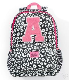 Cool Great INITIAL CHEETAH BACKPACK | GIRLS SCHOOL SUPPLIES ACCESSORIES | SHOP JUSTICE Check more at http://myfashiony.com/2017/great-initial-cheetah-backpack-girls-school-supplies-accessories-shop-justice/