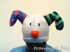 Snowdog (the snow dog, star of Raymond Briggs Snowman fame) handknitted hat | eBay    By tranmere Fan
