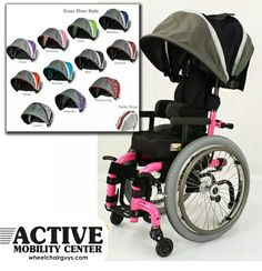 Canopies for Wheelchairs and Strollers