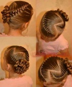 I would love to do this to my girls hair!