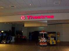 Westminster Mall inside theaters