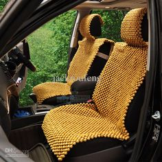 Wholesale Wooden bead car seat cushion quality bead car seat handmade wood beads summer car products, Free shipping, $268.19/Piece | DHgate