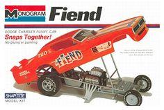 Monogram Fiend funny car