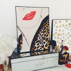 """Leopard Coat"" print by parima studio"