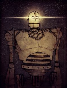 The Iron Giant by CrazyDebbuh.
