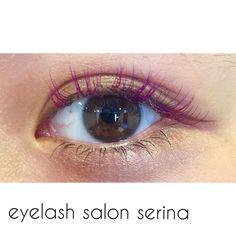 ハロウィンカラー red × purple MIX !!!! #eye#eyelash#アイラッシュサロン#セリナ#serina#デザイン#マツエク#池袋東口店#セーブル#まつ毛エクステ#カラーエクステ#ハロウィン