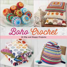 30+ Beautiful #Crochet Patterns in Boho Crochet Book