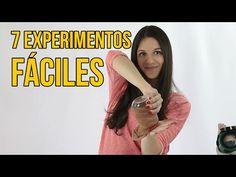 7 EXPERIMENTOS SENCILLOS PARA SACAR BUENA NOTA (Recopilación) - YouTube