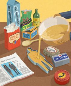 What's Wrong With Today's Society Captured In Brutally Honest Illustrations contains illustrations by English artist John Holcroft showi Art And Illustration, Illustration Design Graphique, Art Graphique, Satirical Illustrations, Illustrations And Posters, Pop Art, Gcse Art, Grafik Design, Conceptual Art