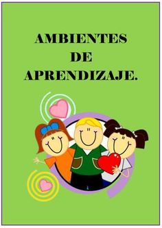 """Cover of """"Ambientes de aprendizaje"""" Family Guy, Author, Books, Ideas, Learning Environments, Innovative Products, Sons, Water, Libros"""
