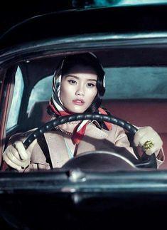 Vogue china film noir