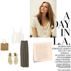 A Day in LA by momentarily on Polyvore
