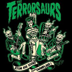 The Terrorsaurs!