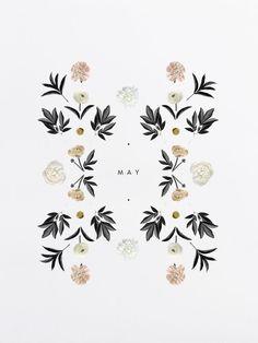 botanical pattern print
