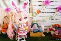 How to make a Mini Bunny Ears Headband for Nendoroid : AnimeFigures