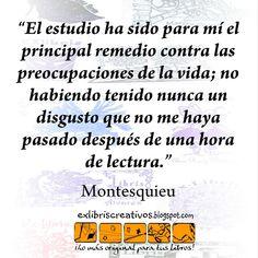 #CitadelaCaja 60 Visita nuestra web http://exlibriscreativos.es Comparte #Cultura Regala #EXlibris #bookplates #Montesquieu