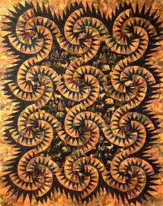 Sand Devils ~ Quiltworx.com, made by Certified Instructor, Ginny Radloff
