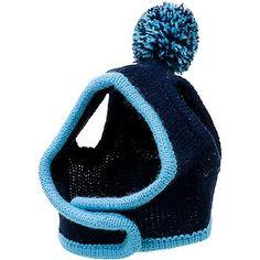 Petco Pup Crew Blue Knit Dog Hat