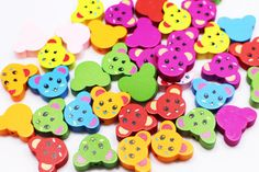 Items similar to Bear Wooden Bead, Animal-shaped Wood Bead, Mixed Color Beads, Children Baby Accessories DIY Craft Material, on Etsy Diy Crafts Materials, Beaded Animals, Baby Accessories, Wooden Beads, Little Things, Color Mixing, Baby Kids, Shapes, Unique Jewelry