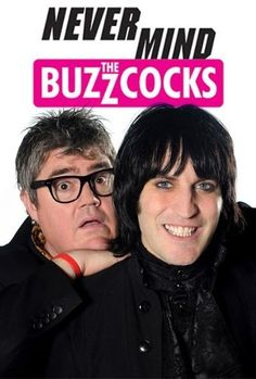 Never Mind The Buzzcocks - such a funny, anarchic, music panel show which has had many different hosts over the years, Rhod Gilbert being one of the funniest