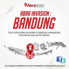 Ayo ikutan kompetisi #AbraInvasion Bandung!
