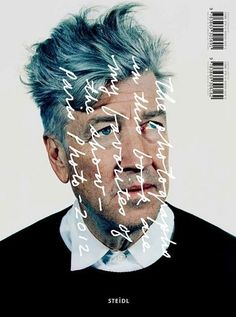 David Lynch. Steidl cover #type #photography #cover #handwriting #editorial #scrawl