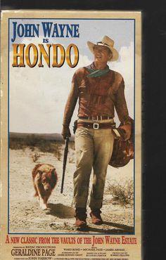Hondo John Wayne Western VHS