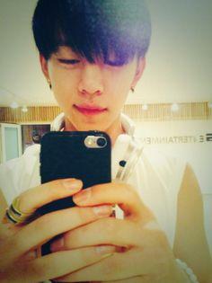 He's so cute (^3^) Daehyun BAP