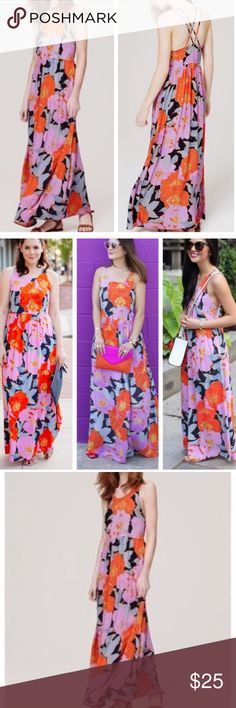 LOFT Full Bloom Maxi - Size 12 Gently worn LOFT Dresses Maxi