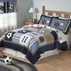 Wgen jcobs ready for a big boy,bedroom this would be perfect