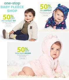 50% Off Sets, Jumpsuits and Little Lamb Hoodie