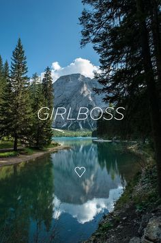 Pragser Wildsee Wallpaper Motivation girl boss