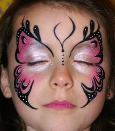 15 simple children face painting ideas for little girls (DIY) Face Painting Ideas, Face Painting Designs, Face Painting Images, Face Painting for Beginners, Simple Face Painting Ide Face Painting Images, Face Painting Tips, Girl Face Painting, Face Painting Designs, Painting For Kids, Paint Designs, Painting Pictures, Face Paintings, Simple Face Painting